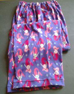 Mermaid design on pants